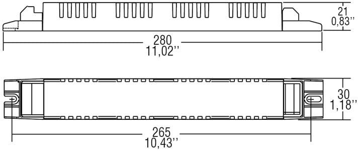 דרייבר בזרמים (mA) 200-350