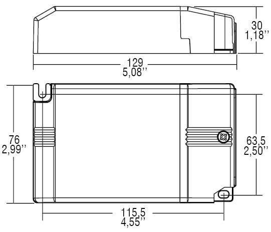 דרייבר זרם - דרייבר בזרמים (mA) 350-1050