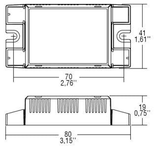 דרייבר בזרמים (mA) 250-350