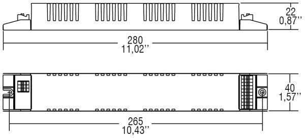דרייבר זרם - דרייבר בטווח זרם (mA( 350-1050