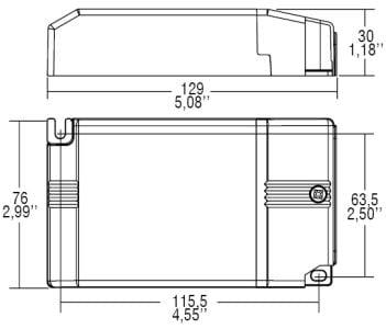 דרייבר בזרמים (mA) 300-1050