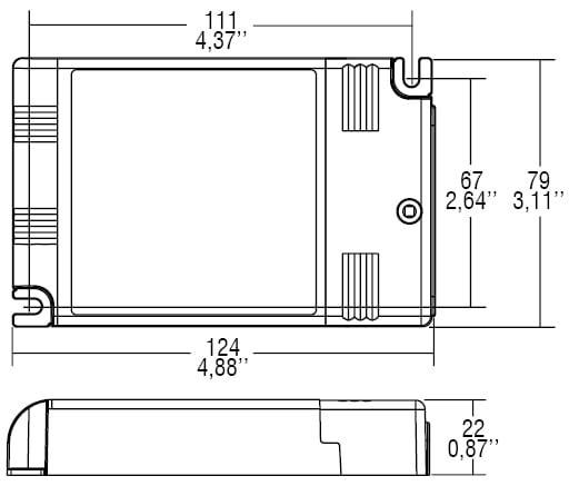 דרייבר זרם - דרייבר בטווח זרם (mA (350-1050