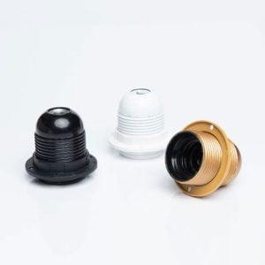 E27 - ב.מ E27 זהב הברגה (טבעת אחת)