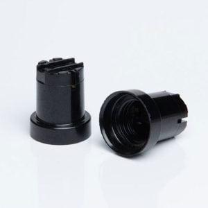 ב.מ E27 פוליאסטר שחור 920