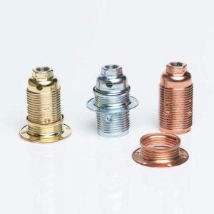 ב.מ E14 מתכת זהב (טבעת אחת) + הרדונג