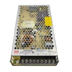 דרייבר MW LRS 200W 24V