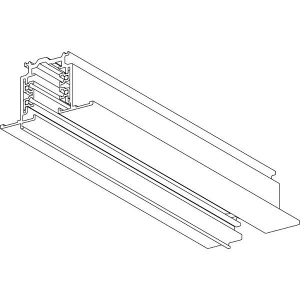 פס צבירה Global - פסי צבירה תלת פאזי 3m לבן