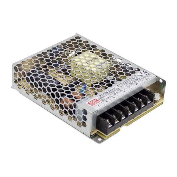דרייברים מתח - דרייבר MW LRS 100W 24V