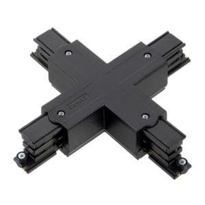 מחבר X לפס צבירה תלת פאזי שחור